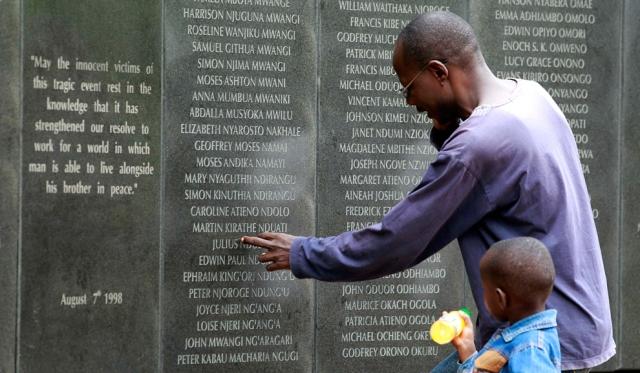 Gedenken an die Opfer von Al Qaida